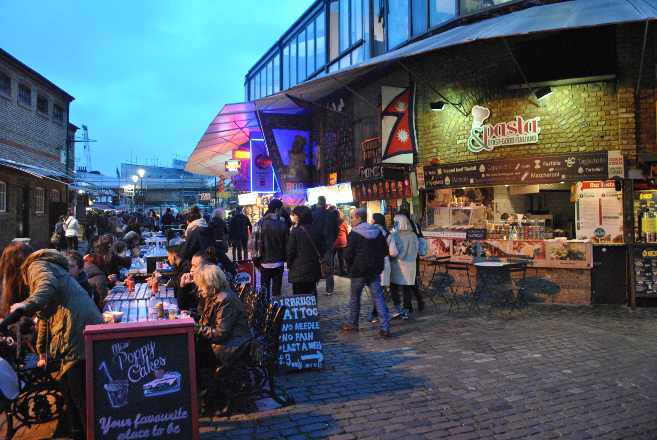 Marvelous markets pt 4 camden market london for The camden