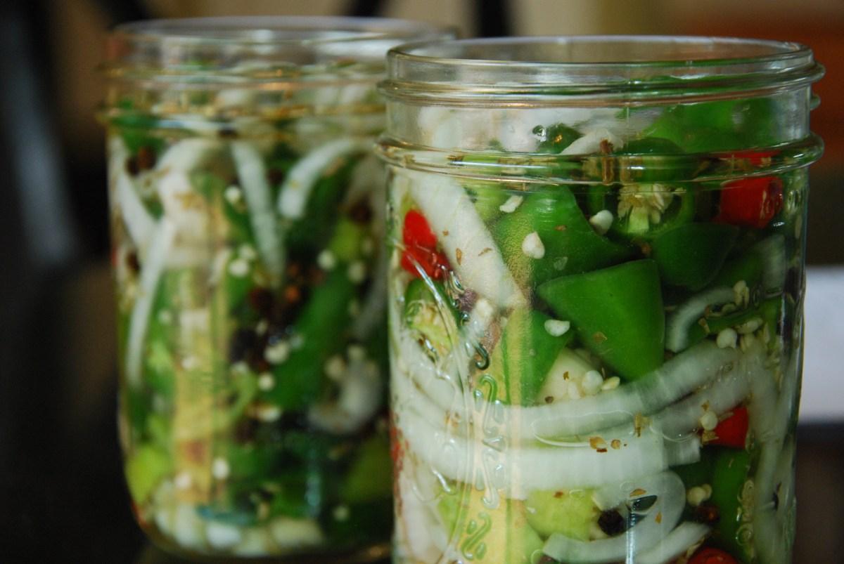 lacto-fermented escabeche
