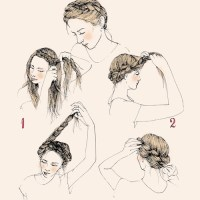 Five Easy Spring Hairstyles