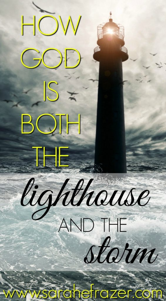 Mom Quotes Wallpaper Hd How God Is Both The Lighthouse And The Storm Sarah E Frazer