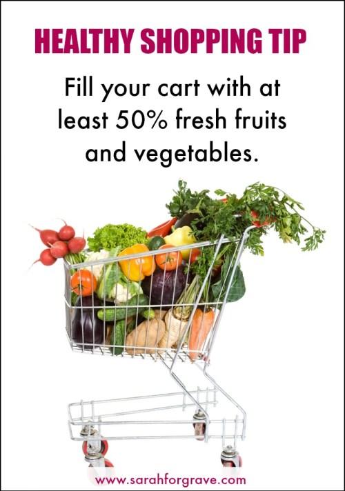 Healthy Shopping Tip | www.sarahforgrave.com