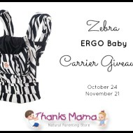 ERGObaby Carrier Giveaway | Thanks Mama