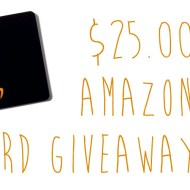 Amazon Gift Card Giveaway | $25.00