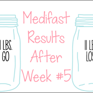 Medifast Journey | Week #5