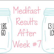 Medifast Journey | Week #7