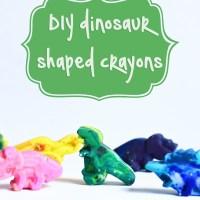 DIY Shaped Crayons