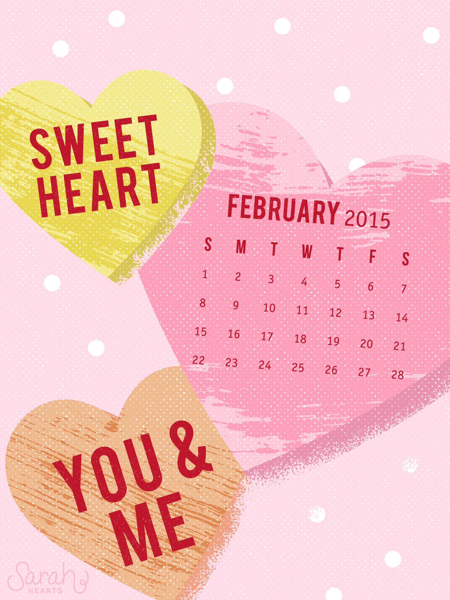 Beautiful Wallpapers For Iphone 6 Plus February 2015 Calendar Wallpaper Sarah Hearts