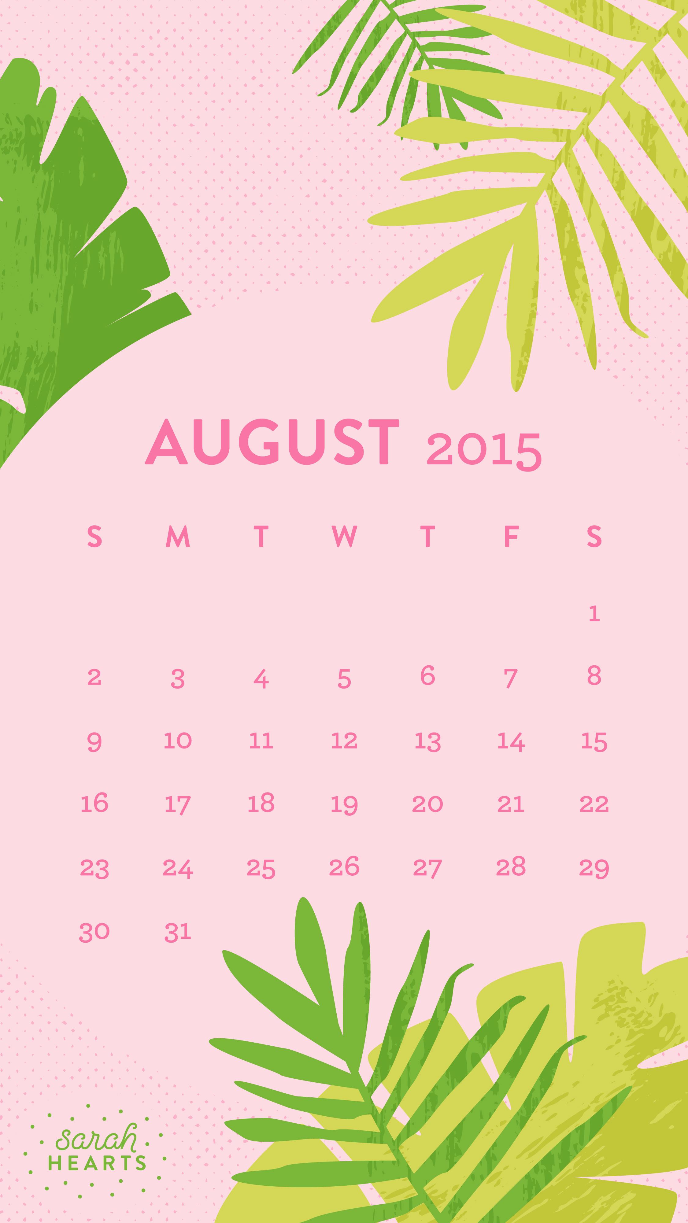 Emoji Wallpaper Quotes August 2015 Calendar Wallpaper Sarah Hearts