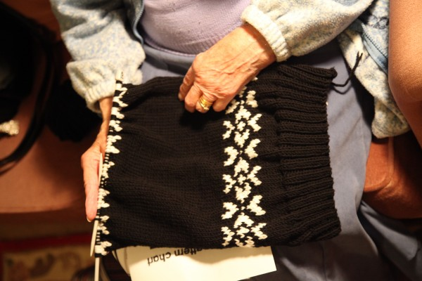 Whizzing through the stocking-stitch section