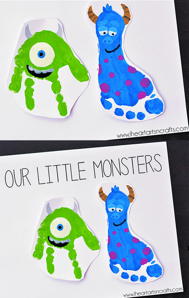 Hand and Footprint Art Ideas - Sarah Titus