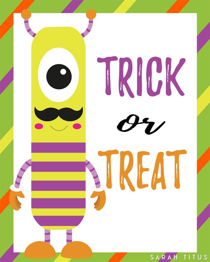 Halloween Printable Door Signs - Sarah Titus