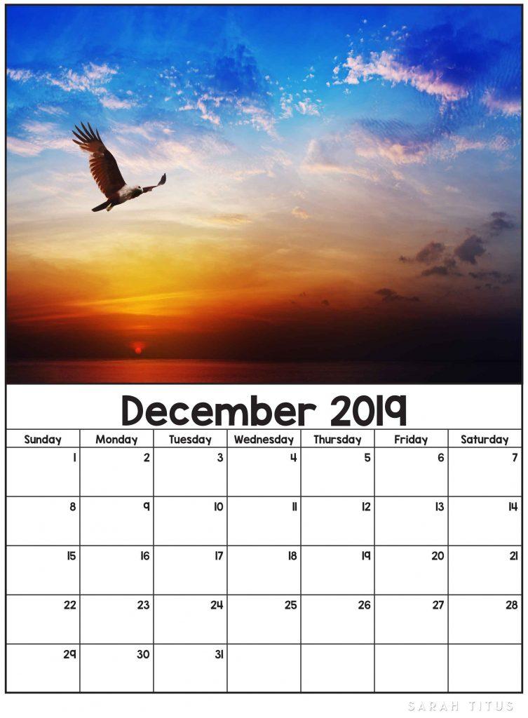 calendars august 2019
