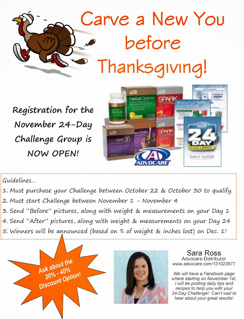 My 24-Day Advocare Challenge - 24 day challenge guide