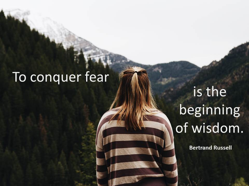 'Risk talk' and reducing fear