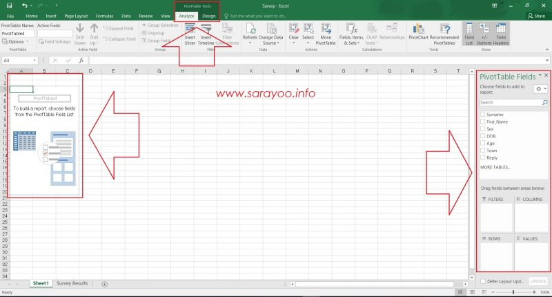 Create a PivotTable in Excel 2016 and Easily Analyze Large Data in
