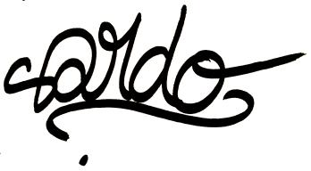 signature sardo