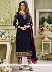 Buy Monumental Embroidery Work Pant Style Salwar Kameez Online