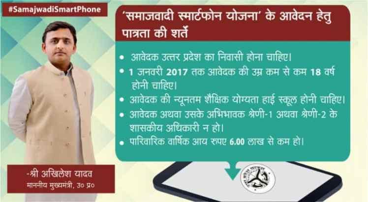Image result for Samajwadi Party Free Smartphone Yojana logo
