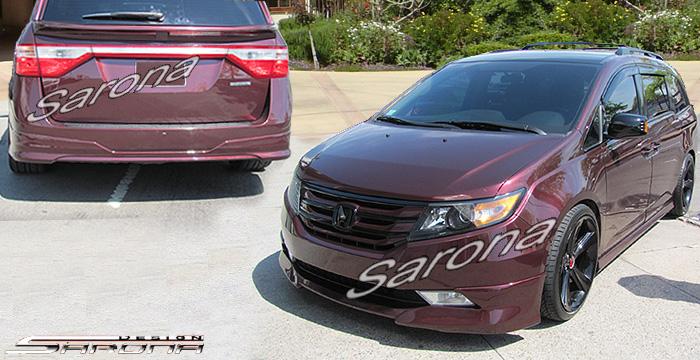 2006 Honda Odyssey Roof Spoiler2006 Honda Odyssey