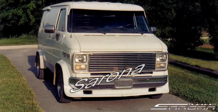 Custom GMC Van All Styles Front Add-on Lip (1977 - 1995) - $34900