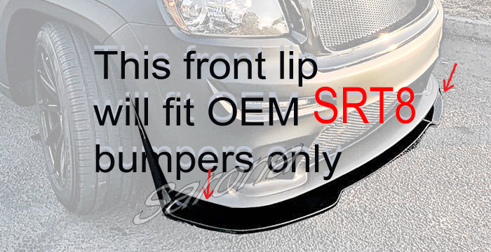 Custom Jeep Grand Cherokee 2014 Front Add On Lip Sarona