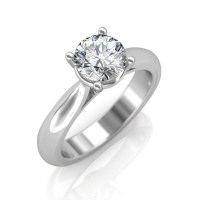 0.30 carat Platinum - Classic Engagement Ring at Best ...