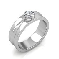 The Prius Platinum Ring For Him - 0.25 carat - Diamond ...
