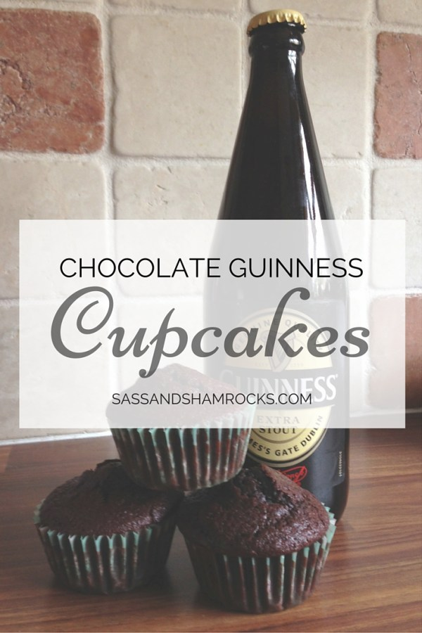... Chocolate Guinness Cupcakes? Don't panic though, these cupcakes are