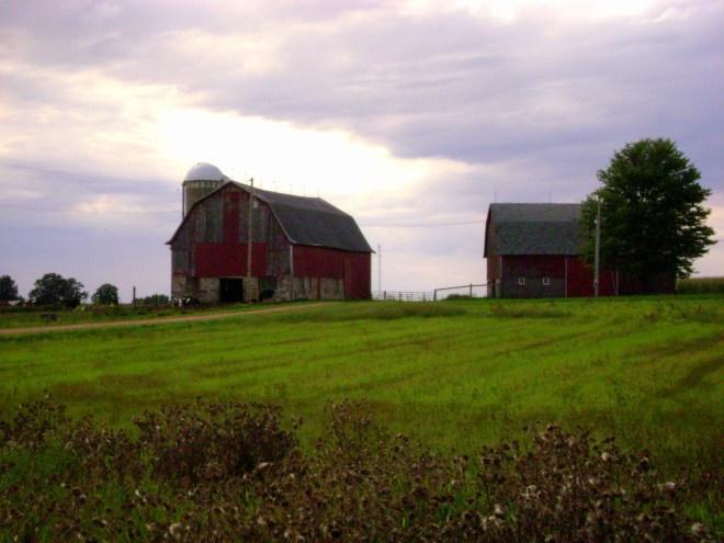 Wisconsin Stone Foundation Barns