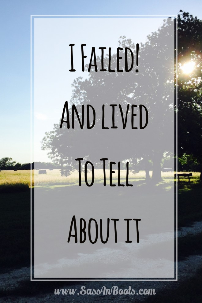 I survived Failure A blessing in disguise