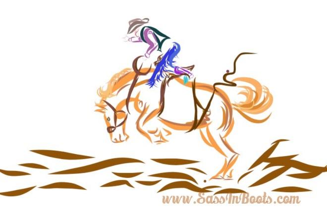 Kaila Mussell Female Saddle Bronc Rider