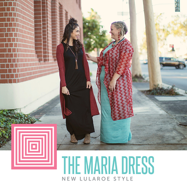 The NEW LuLaRoe Maria Dress! - Direct Sales and Home Based Business