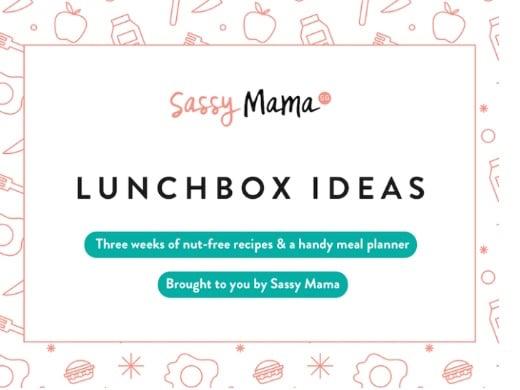 Kids\u0027 Lunchbox Recipes  3 Week Meal Planner Free Downloadable!
