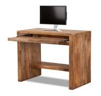 Solid Mango Wood Computer Desk | Casa Bella Handcrafted ...