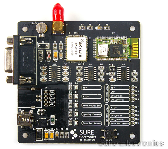 Using the Sure Electronics GPS evaluation board for NTP