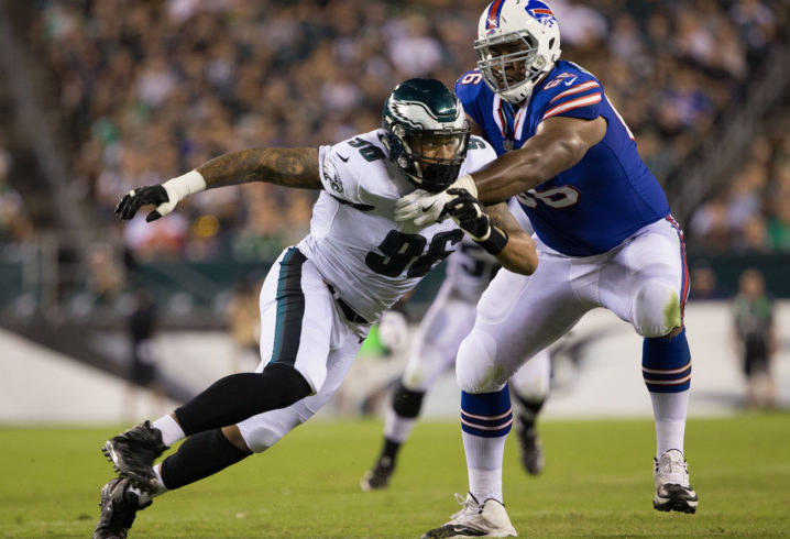 Derek Barnett working his way up the Philadelphia Eagles\u0027 depth chart
