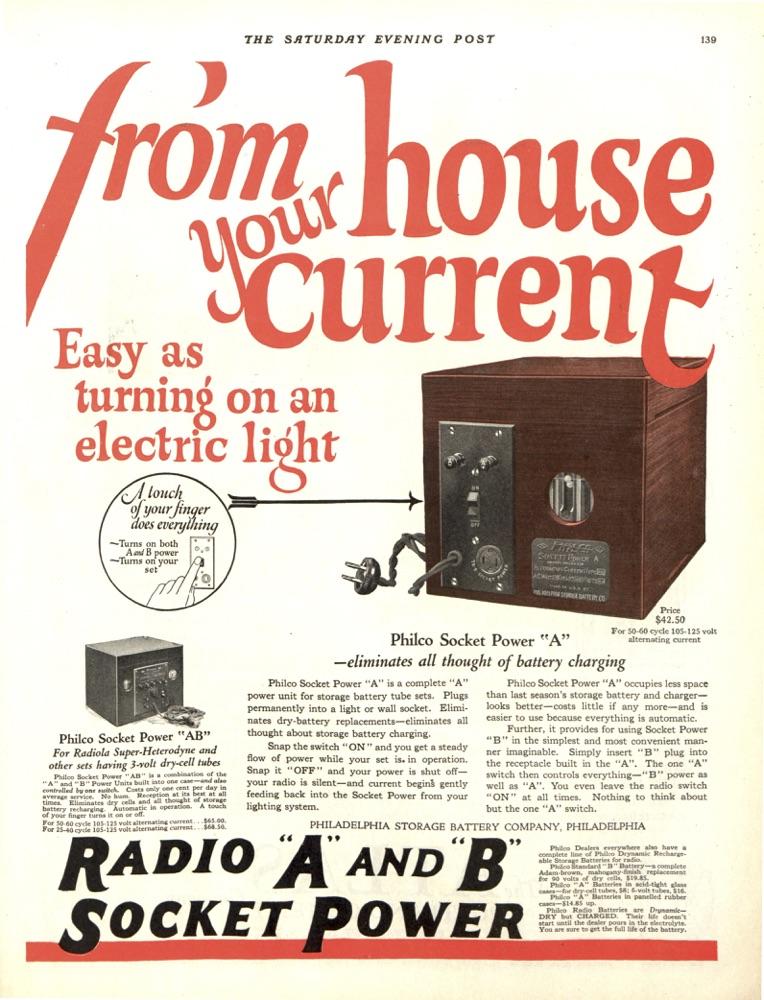 Vintage Advertising RCA\u0027s 1920s Radios The Saturday Evening Post