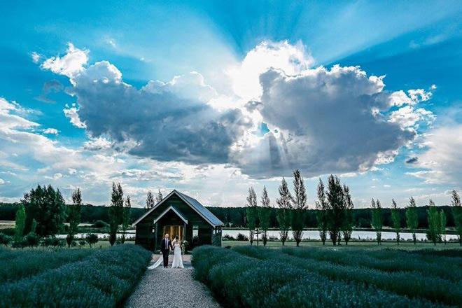 Sault Barn/Chapel in a stunning image by Ben Swinnerton