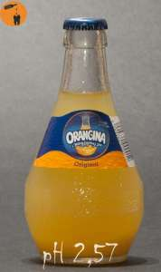 Orangina orginal pH 2,57