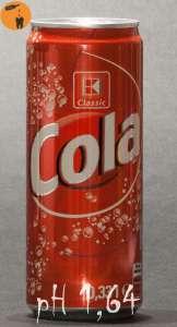 Kaufland Cola - pH 1,64