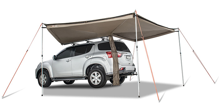 Roof Rack Awning Options Mount To Your Vehicle Savage Camper