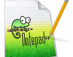 English: Icon for Notepad++