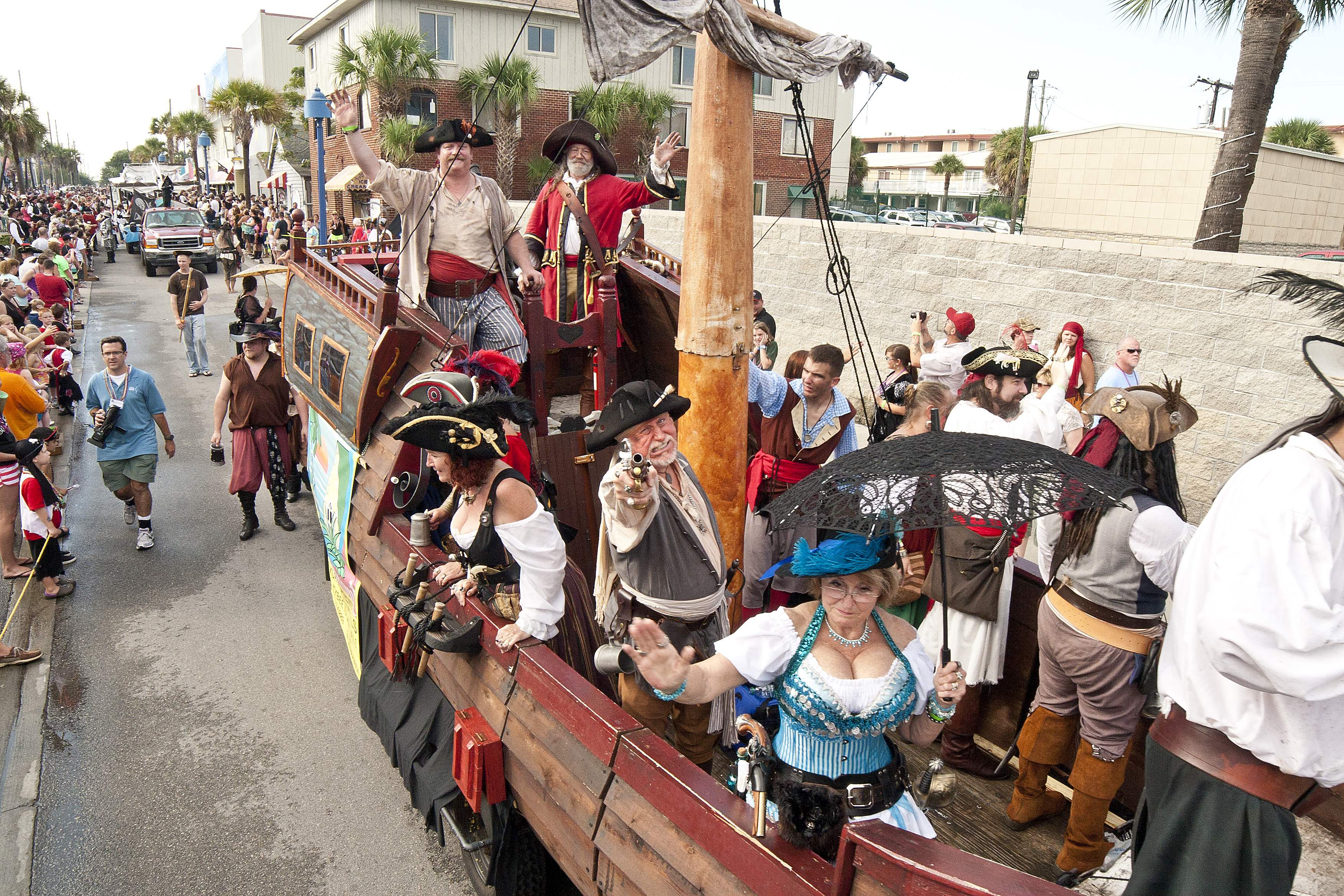 Pirate Fest Invades Tybee Island This Weekend Savannah
