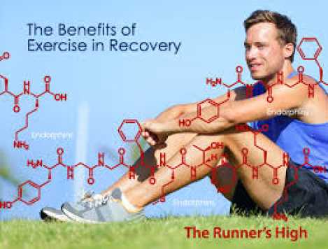Addiction recovery and exercise