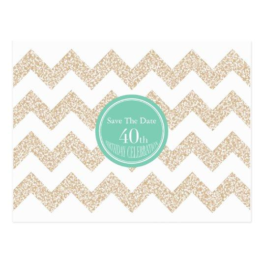 40th Birthday Party \u2013 \u2013 Choose Color Cards \u2013 Save the Date Cards