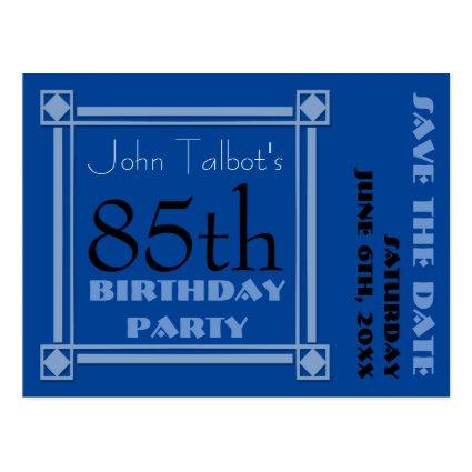 Birthday Party Savethedate Postcards Save The Date Cards \u2013 Save the