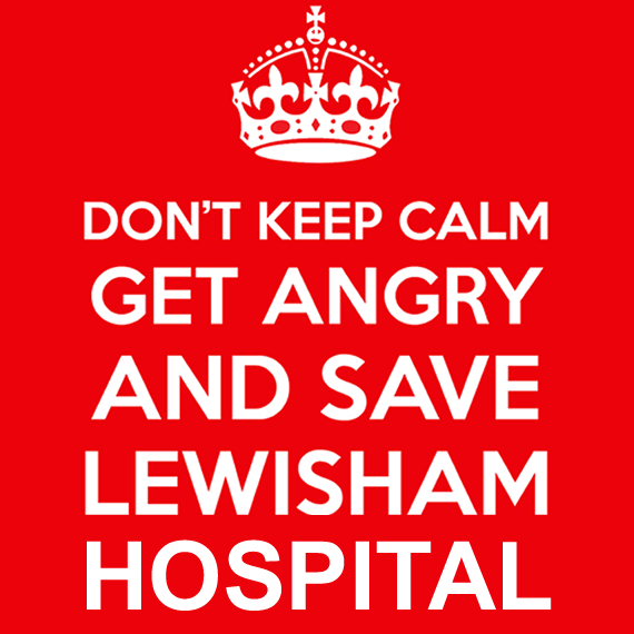 FIGHT TO SAVE LEWISHAM HOSPITAL CONTINUES