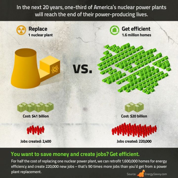 Nuclear Power Plant vs Thousand Homes Nuclear Waste Pinterest - example flyer