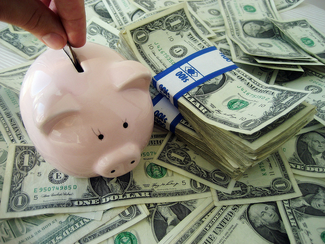 the power of saving money