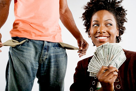 breadwinner-woman-cash-bills-money